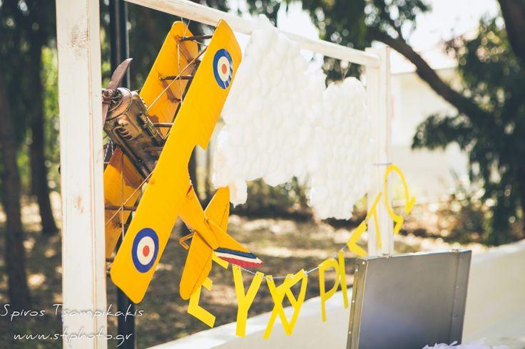 #Aeroplanetheme #Baptism In #Rhodes #WeddingPlanner #Greece #GoldenAppleWeddings