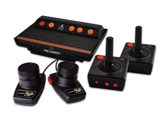 Atari Flashback 7 Deluxe FINALLY has FROGGER! Cannot Wait to play FROGGER! ATARI FLASHBACK 7 DELUXE https://www.amazon.com/dp/B01N8UNGM8