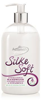 Anti-Bacterial Liquid Handwash; Silke Soft