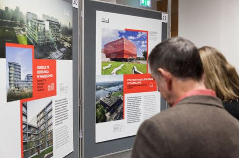 """Polska. Architecture"", an exhibition organised by the Polish Embassy in Dublin, opened at the Representation of the European Commission in Ireland on 24 November."