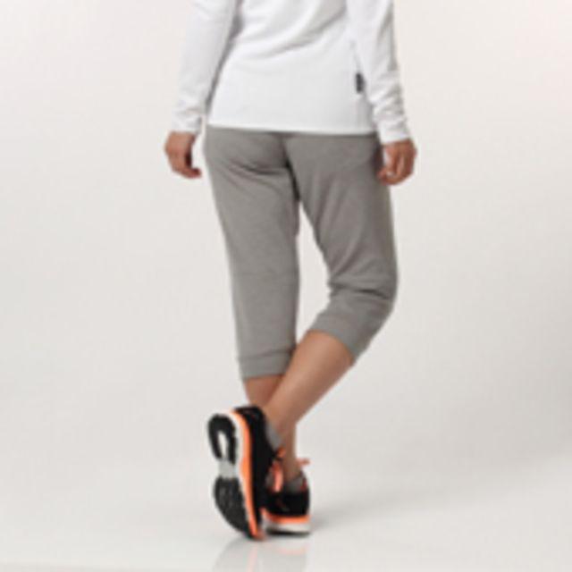 【レディース Seasonal training アクティブスウェット スウェット カプリパンツ】adidas