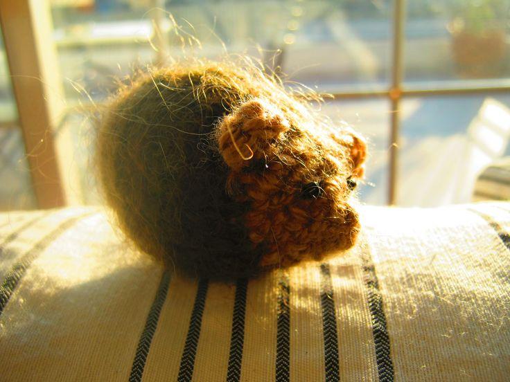 hedgehog (7 cm)  Crochet