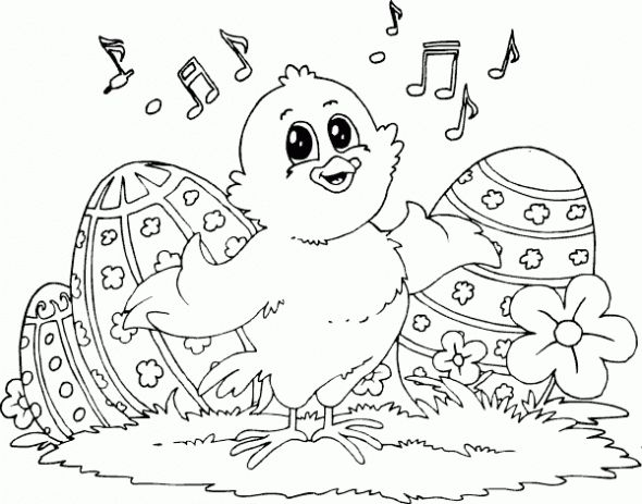 101 best Easter Coloring images on Pinterest Easter coloring pages