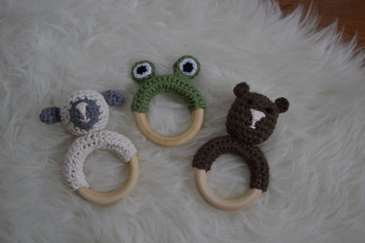 A personal favorite from my Etsy shop https://www.etsy.com/ca/listing/259619574/natural-organic-baby-teether-wooden-ring