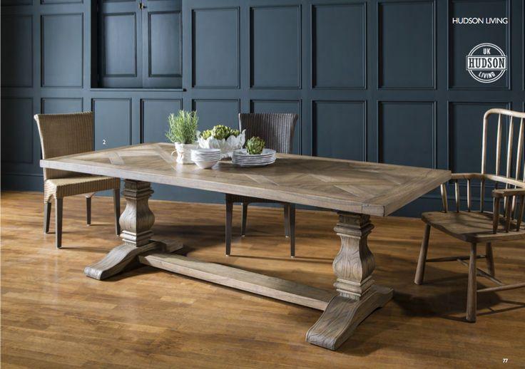 Hamilton Pedestal Table by Gallery Homewares