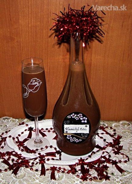 Vianočný čokoládový likér (fotorecept)