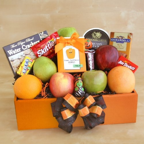 Sweets and Treats Halloween Gift Basket « Holiday Adds
