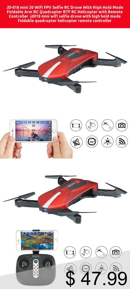 Only 4799 Jd 018 Mini 20 Wifi Fpv Selfie Rc Drone With High Hold