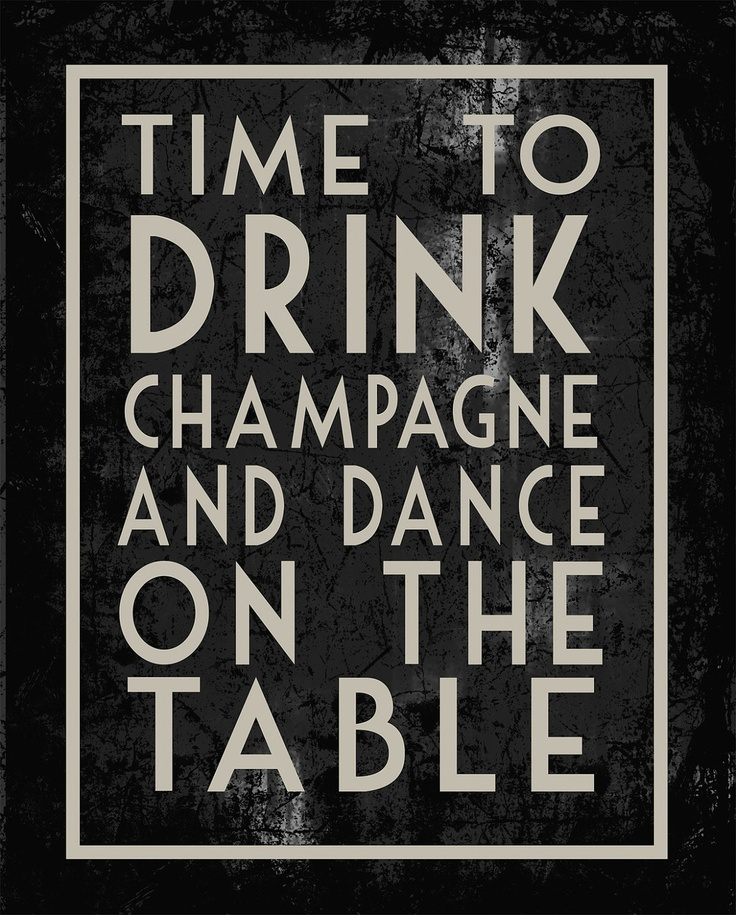 sounds about right! birthday poster change drink
