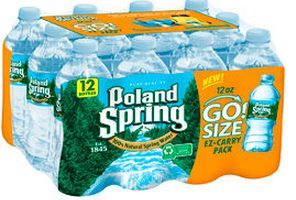 *HOT* Poland Spring 12 Packs Only .66 Cents at ShopRite (3/5)