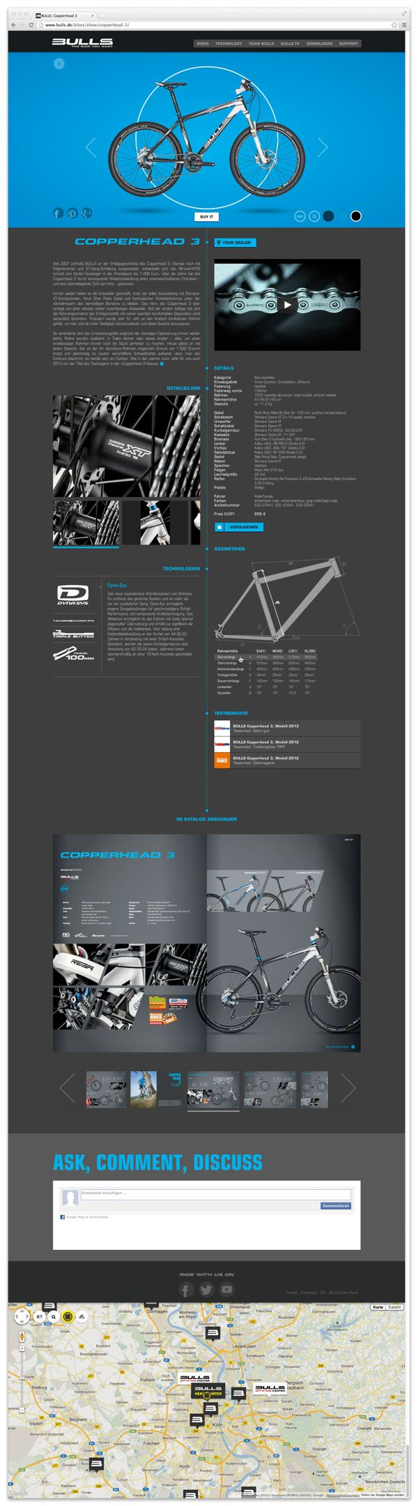 BULLS.DE on Web Design Served