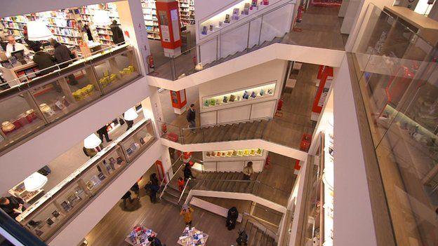 Foyles' new flagship building