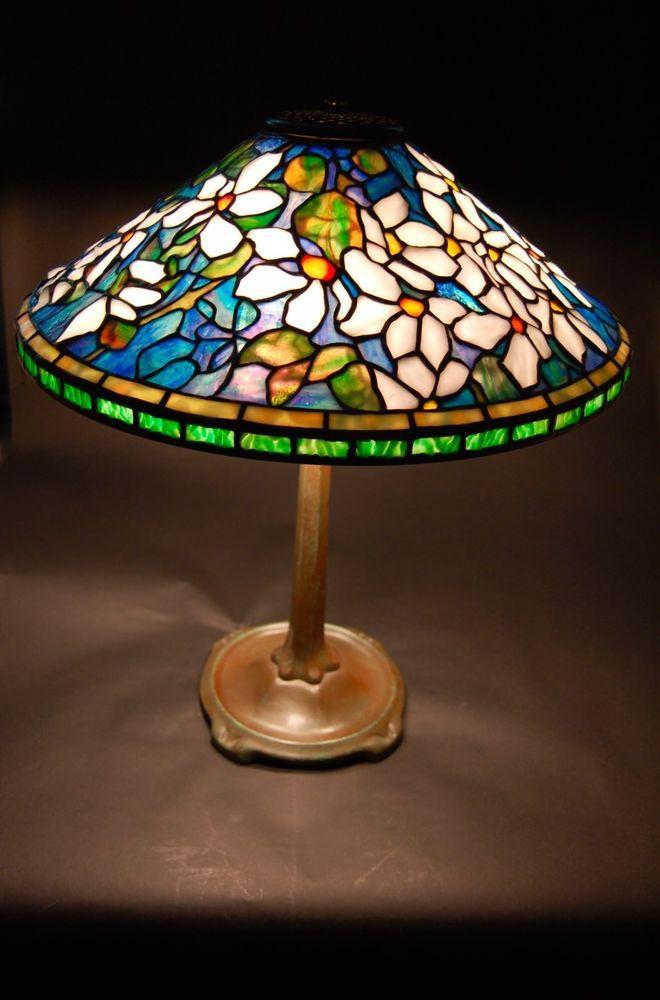 b2dc633dcfd Tiffany Reproduction Lamp shade and base