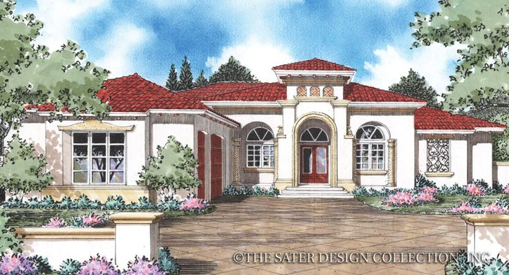 9 best Southwestern House Plans - The Sater Design Collection ...