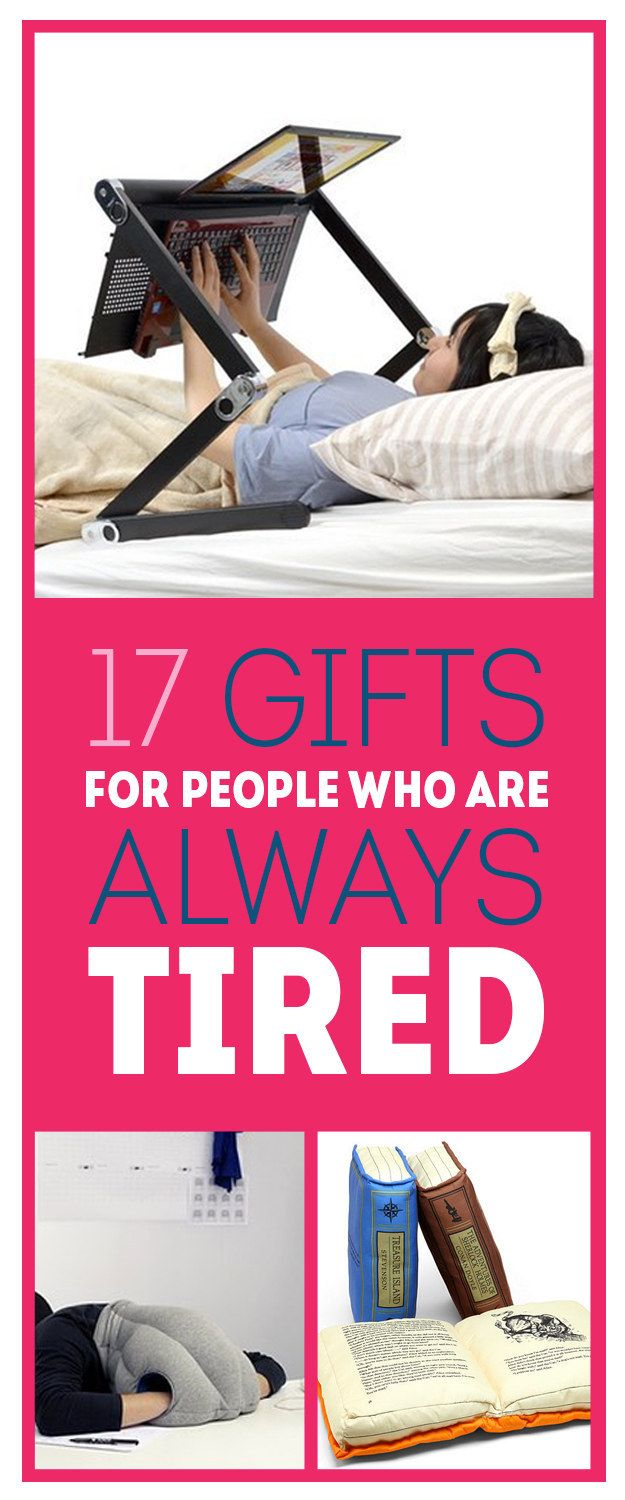 17 Marvelous Gifts For People Who Are Always Tired