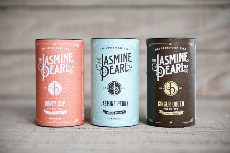 Jasmine Pearl #Packagin #Tea