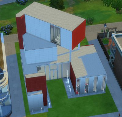 How to Sims: Fitness Center