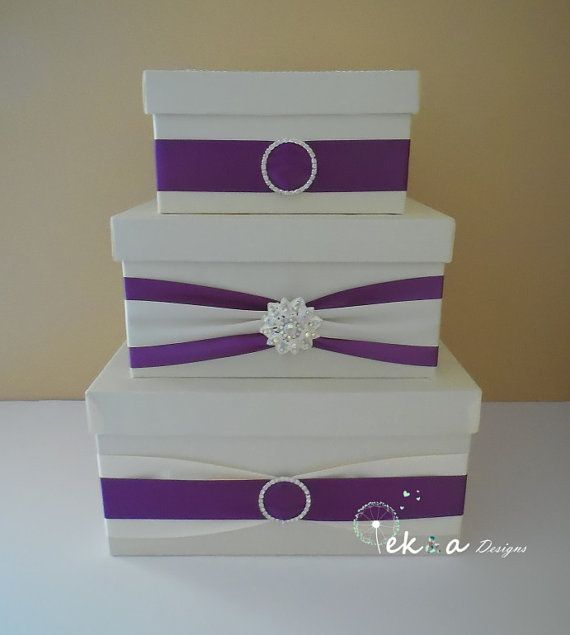 35 best Card Boxes images on Pinterest | Decorative boxes, Wedding ...