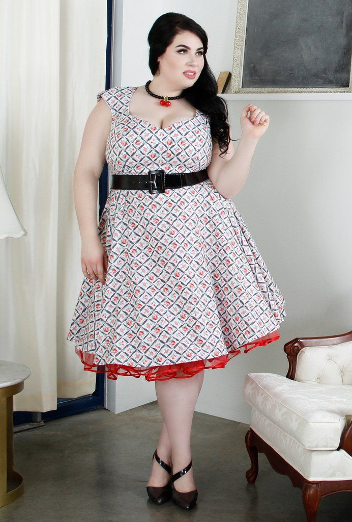 Brooke Dress - Red Rose Tea