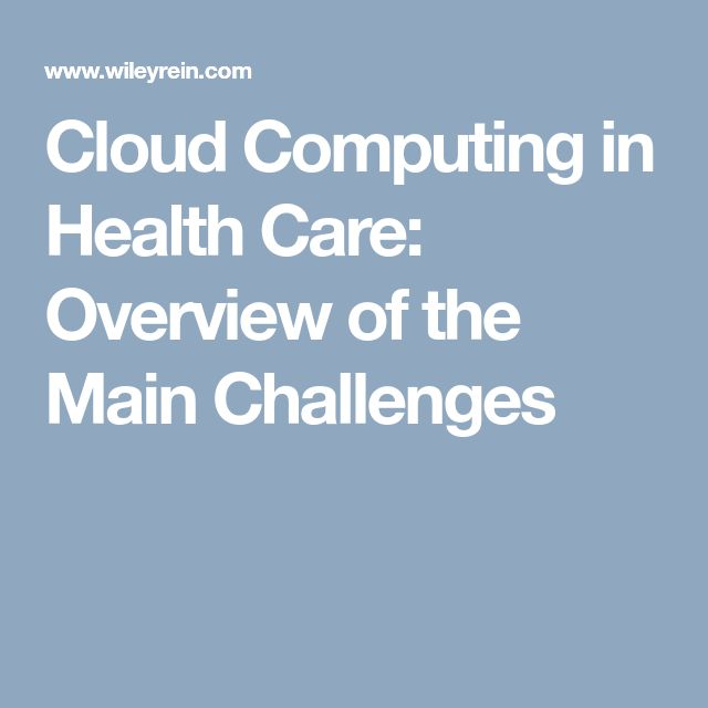 This article focuses on the major challenges of cloud computing that prevent it from being readily adopted by health care organizations, namely data security and reliable accessibility of data. The article notes that while the cloud will certainly grow in health care, its growth will be slow until cloud providers can find a way to effectively address these challenges.