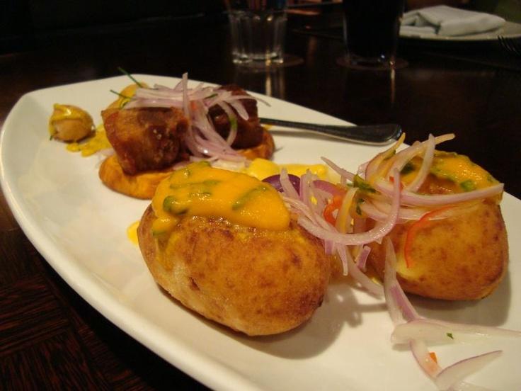 Papa rellena | Peruvian food | Pinterest
