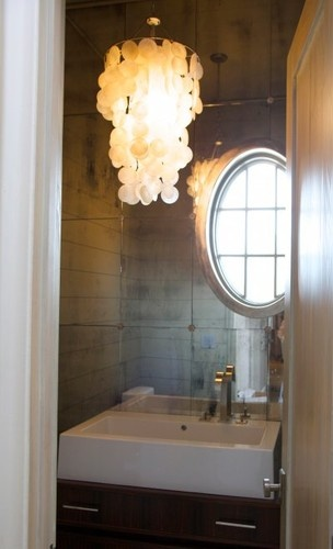 mirror tiles for bathroom walls 1000 images about powder room on powder room 23775