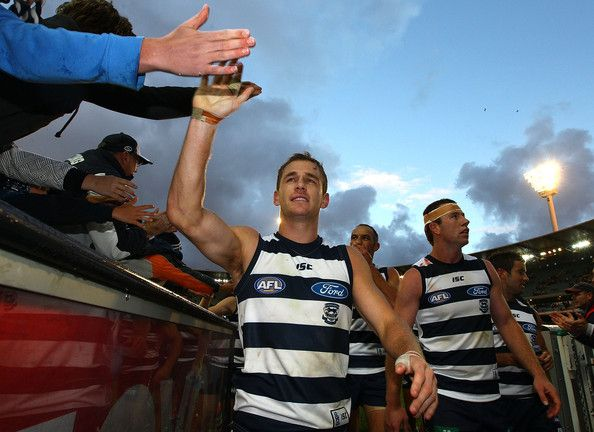 Joel Selwood from the Geelong Cats