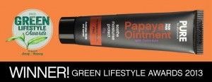 PURE Papaya Ointment - Natural Beauty - In our January Native Box