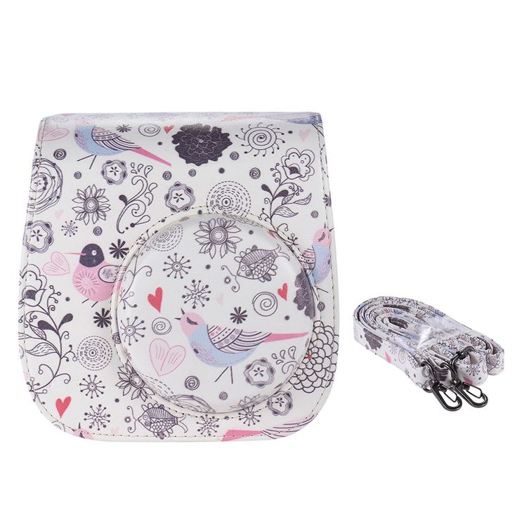 Best Andoer Compact Cute Lovely PU Leather Protective Camera Sale Online Shopping