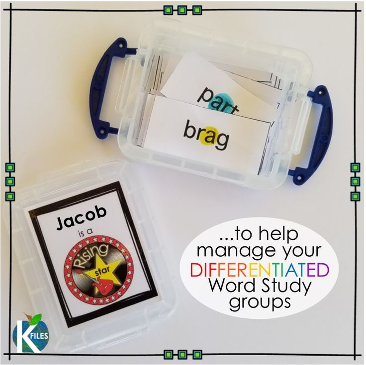 """Differentiate your Word Study groups with or w/out Words Their Way! This resource is proven to help make your planning, organization, routine & implementation of differentiated Word Study groups much easier! Your Daily 5 literacy centers and stations will run smoothly as your students will be focused on meeting their spelling & phonics goals. A Rock Star & Spelling Super Star theme motivates students to """"band"""" together & """"rock"""" their word study goal. TheKausFiles.blogspot.com"""