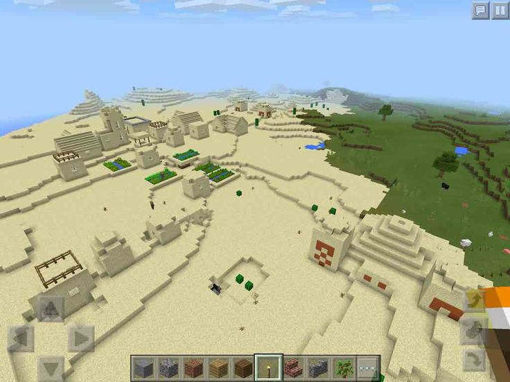 how to find a village in minecraft pe seed