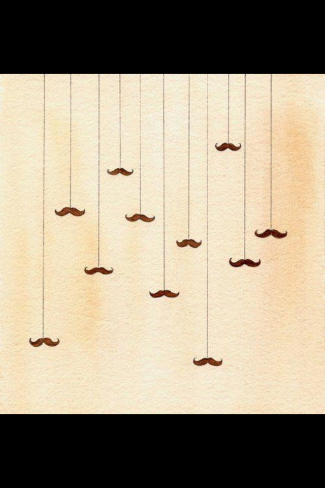 El cielo de los mostachos. #mostacho #moda #diseño