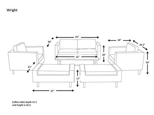 Patio Furniture Dimensions