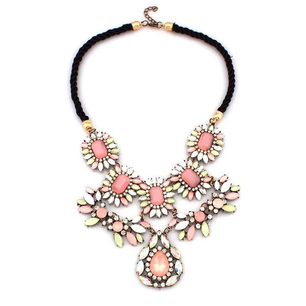 Terry Blush Statement Necklace