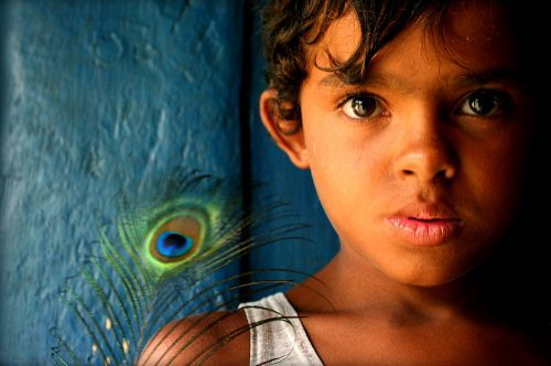 Elias, a street child from Brazil.