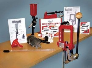 The Lee Precision 50th Anniversary Reloading Kit - At the heart of the Lee Precision Anniversary Challenger II Kit is the Challenger Press, a strong O-frame press with a larger-than-average opening angled at 30° for maximum hand clearance.