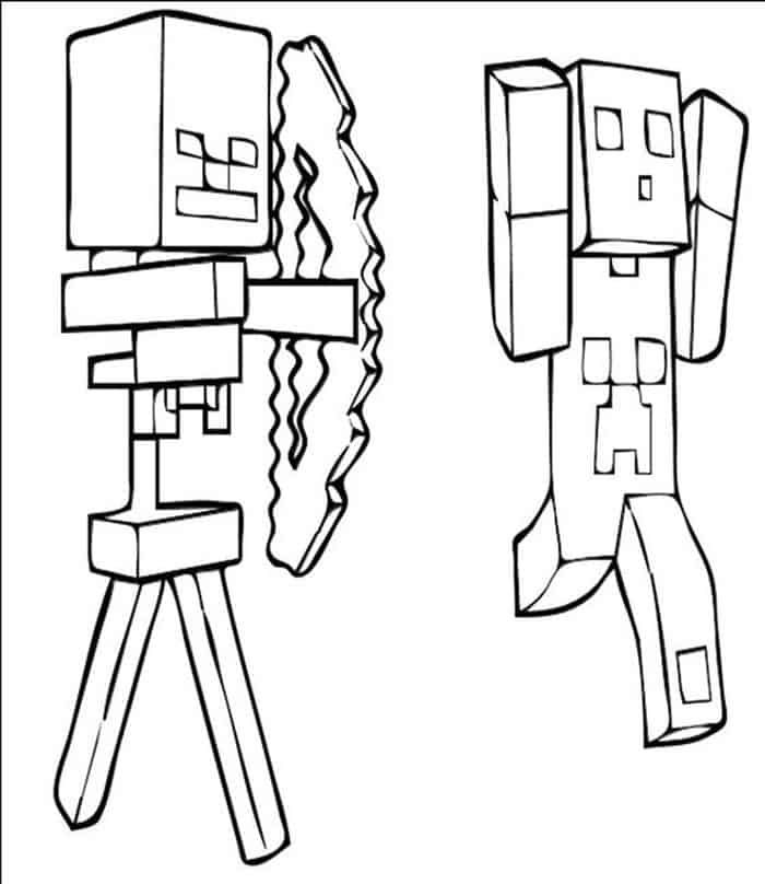 Minecraft Bow And Arrow Coloring Pages Minecraft Coloring Pages Lego Coloring Pages Creeper Minecraft