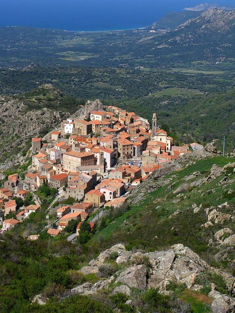 Corsica is a French island in the Mediterranean Sea.  Go to www.YourTravelVideos.com or just click on photo for home videos and much more on sites like this.