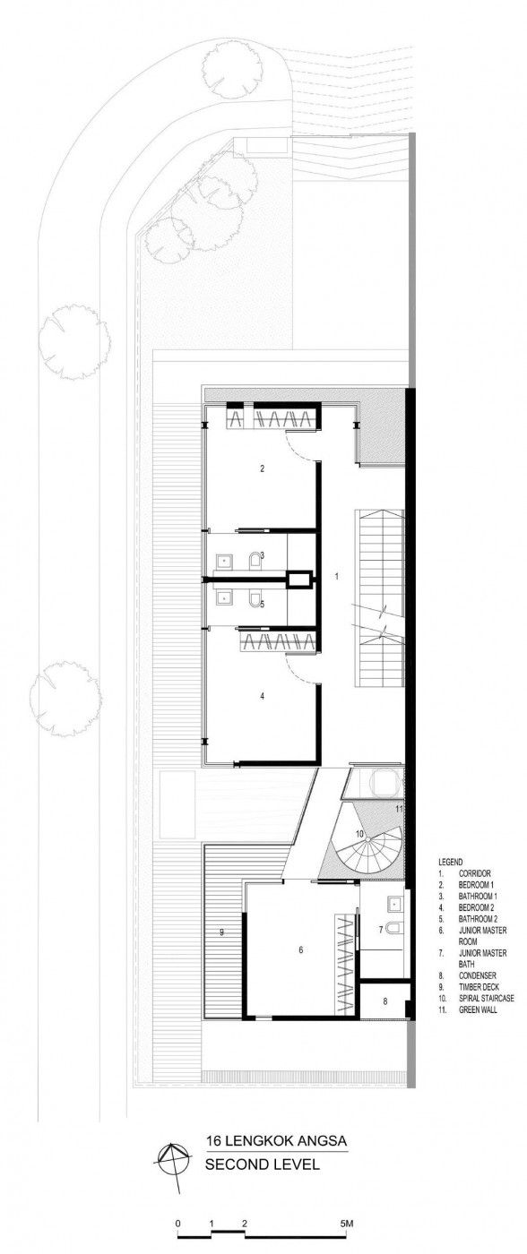 192 best osnove images on pinterest architecture floor plans a home with emphasis on the relation between the indoors and the outdoors in singapore