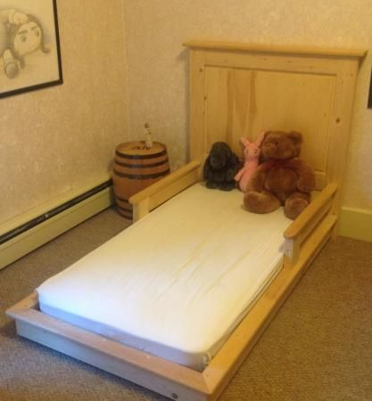 Toddler version of the platform bed | Do It Yourself Home Projects from Ana White
