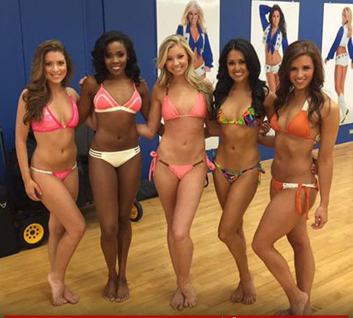 Dallas Cowboys cheerleaders -- there is no bikini off-season!