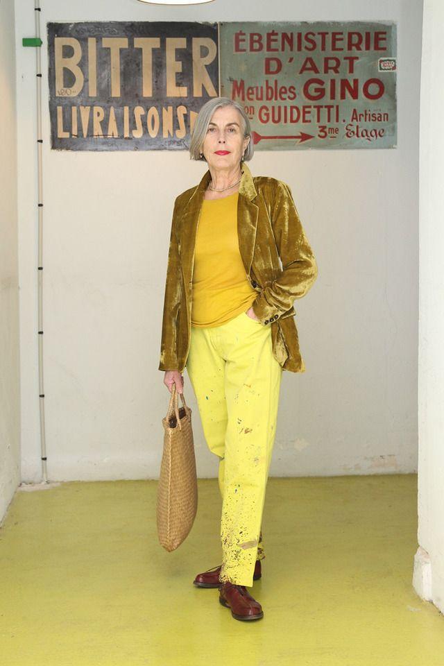 パリのおしゃれマダムのファッションと名言。シニア女性の人生観を捉えたスナップ集 8枚目の写真・画像   ファッショントレンドニュース FASHION HEADLINE