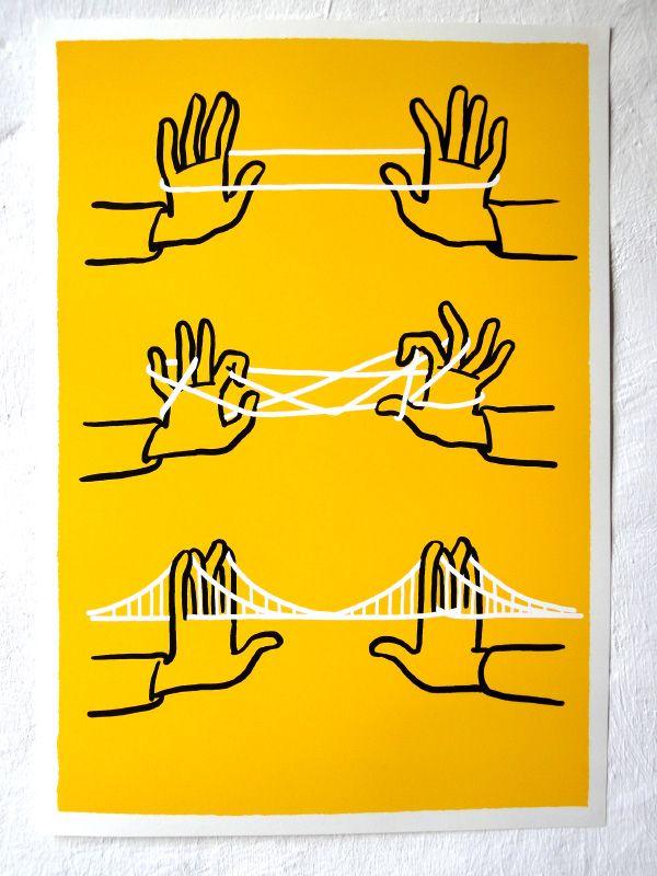 Illustration Inspiration #make #bridge