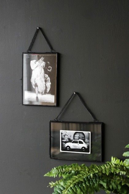 We love how the postcards and photographs can be displayed in this copper picture frame with as much or little space as you wish whether you want to