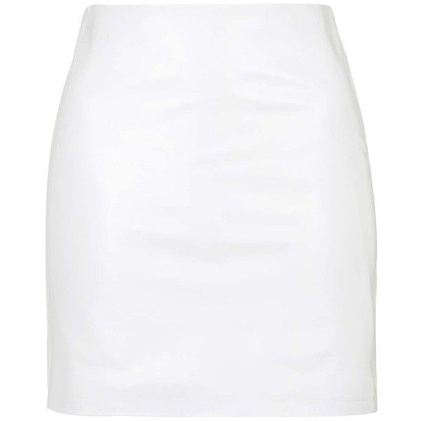Women's Topshop Boutique Leather Miniskirt (2.750.370 IDR) ❤ liked on Polyvore featuring skirts, mini skirts, leather miniskirt, leather skirt, topshop skirts, short skirts and leather mini skirt