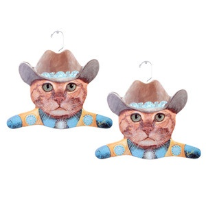 Cowboy Cat Hanger Set of 2, 21,50€, now featured on Fab.