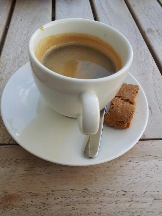 Kaffee im Central