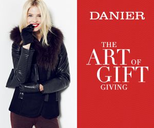 Danier Holiday Gifts! Perfect presents for everyone on your gift list! Jackets starting from $179 and handbags starting from $79. While quantities last.
