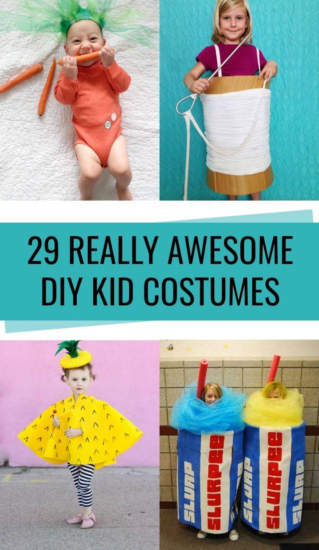 29 DIY Kid Halloween Costume Ideas