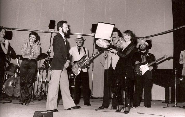 irena jarocka w teatrze buffo 1980   Koncert w teatrze Buffo w Warszawie…